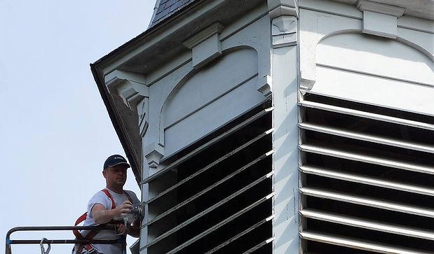 renovatie klokkentoren