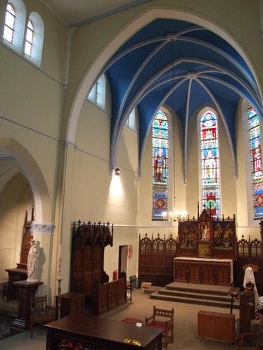 Kerk Wilskerk bij Middelkerke