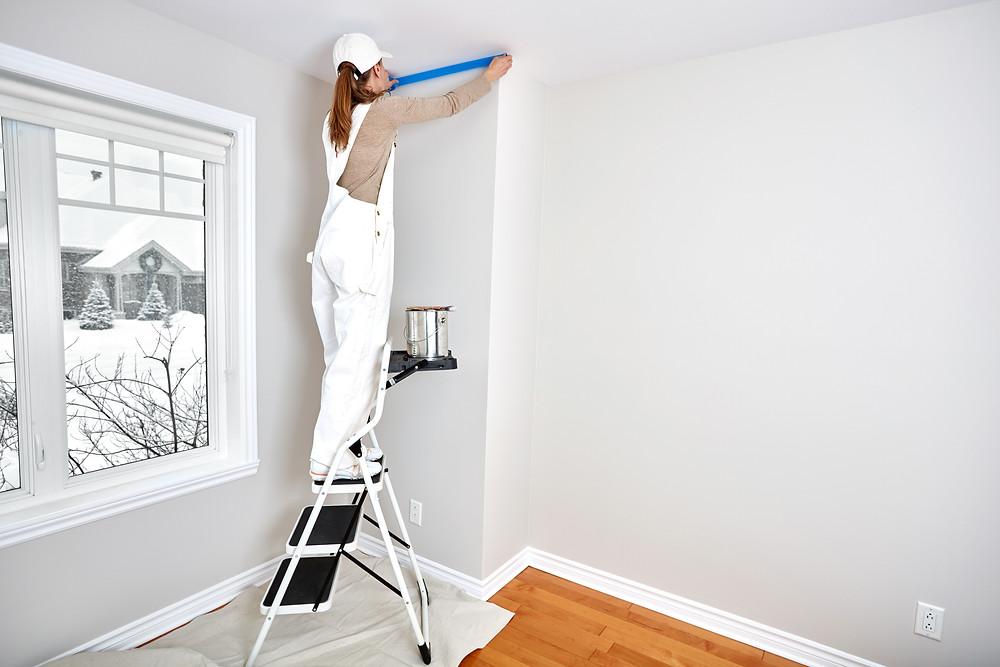 Plafond schilderen doe je zo