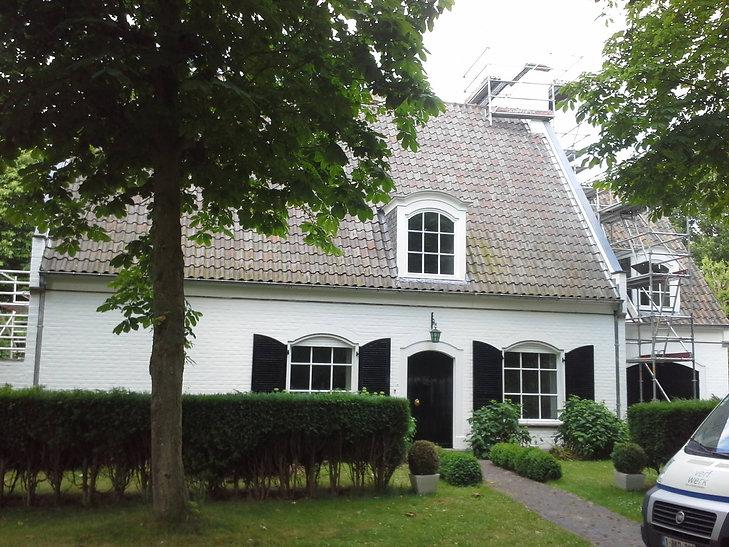 Gevelverf villa Brugge