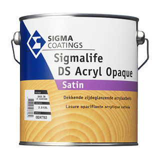 Dekkende olie Sigmalife DS Acryl Opaque Satin