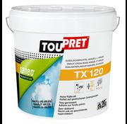 Toupret TX 120 15kg afwerkingsplamuur voor wanden