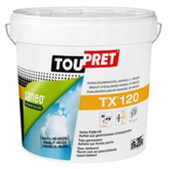 Toupret TX 120 20kg afwerkingsplamuur voor wanden