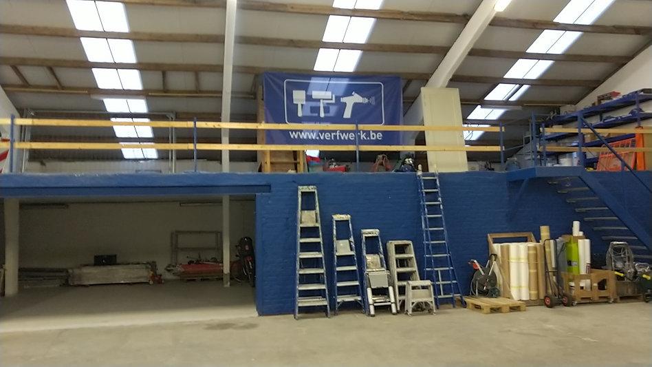 werkplaats voor schilderwerken Knokke