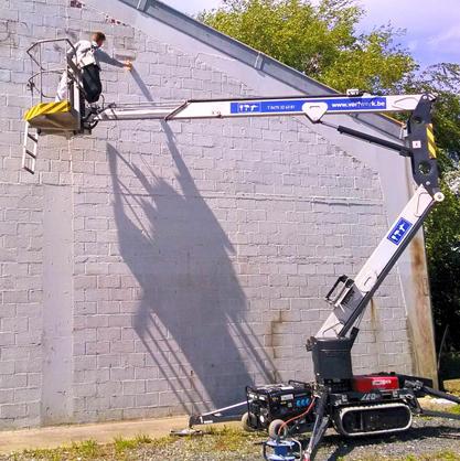 gevel loods hoogtewerkeVerfwerk schilder