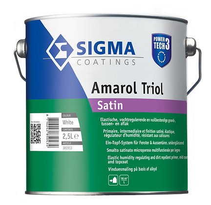 Amarol Triol éénpotsysteem lakverf voor binnen en buiten