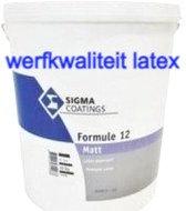 Sigma Formule 12 Latex 20KG (+/- 12l) Wit