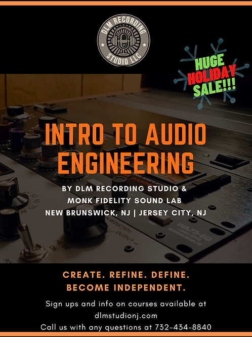 INTRO TO AUDIO ENGINEERING