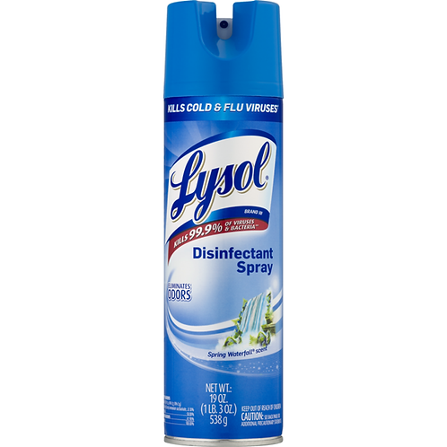 Lysol Disinfectant Spay Aerosol Can