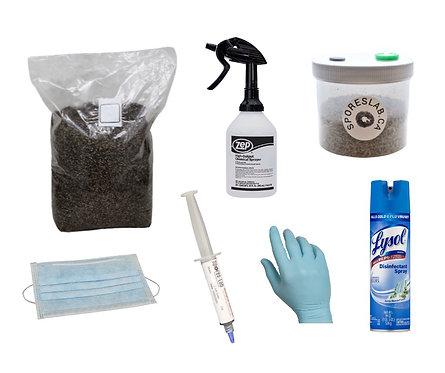 Spore Syringe Mushroom Grow Kit