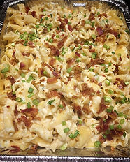 This month's Mac; crispy pancetta and ch