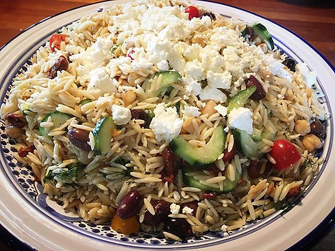 Greek Orzo 🍋 _#greekorzo _#partyfood_#t