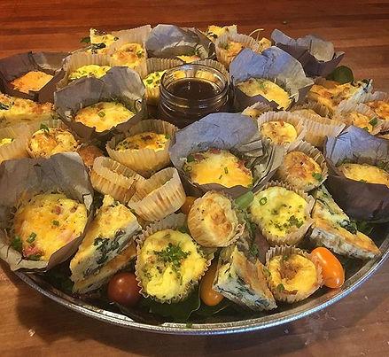 Quiche is served. #brunch #quiche #party