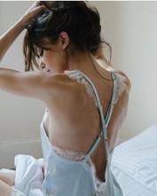 Grace silk negligee