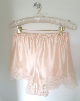 Rosa Blush Silk French Knickers