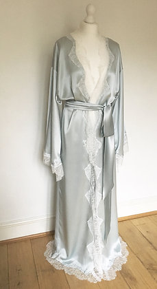 Long Silk Kimono Robe - VARIOUS COLOURS