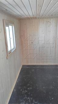 Бытовка дачная с душем и туалетом вид комнаты