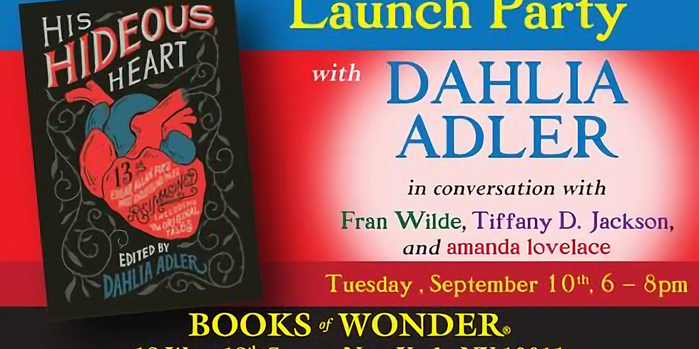Launch Party for HIS HIDEOUS HEART!