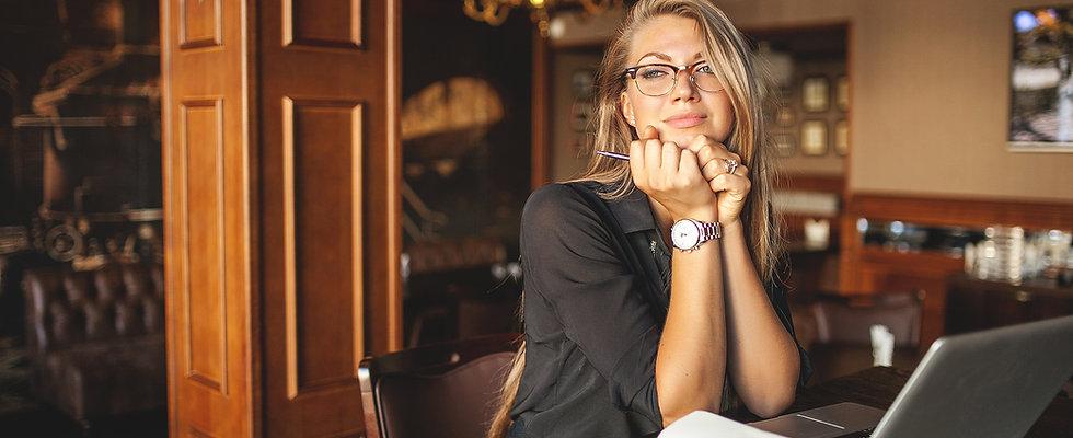 zainspirowany Businesswoman