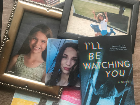 Why I wrote: I'll Be Watching You