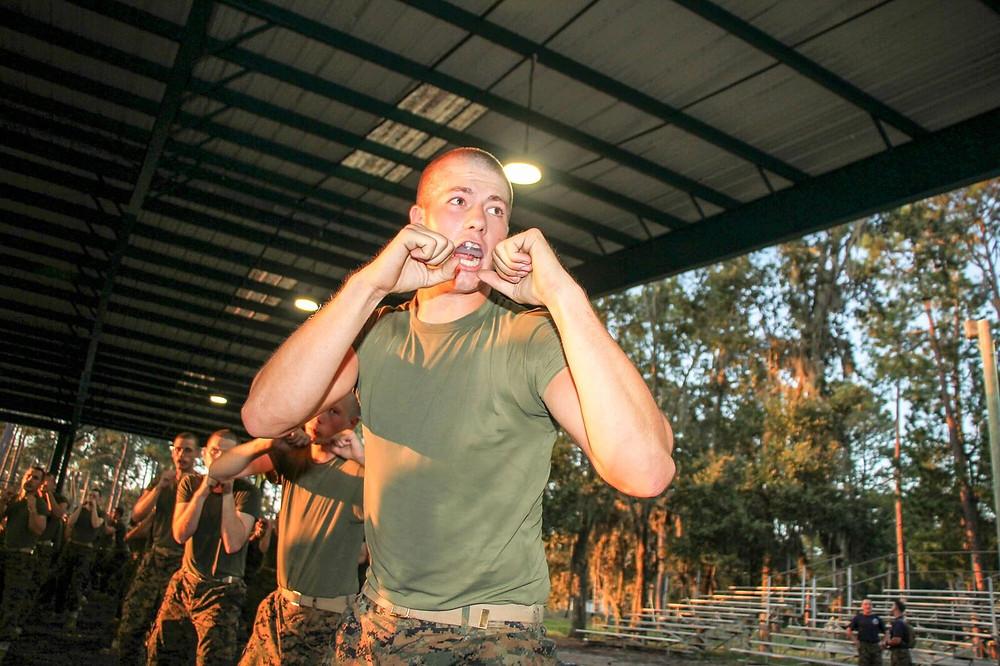Becoming a Marine