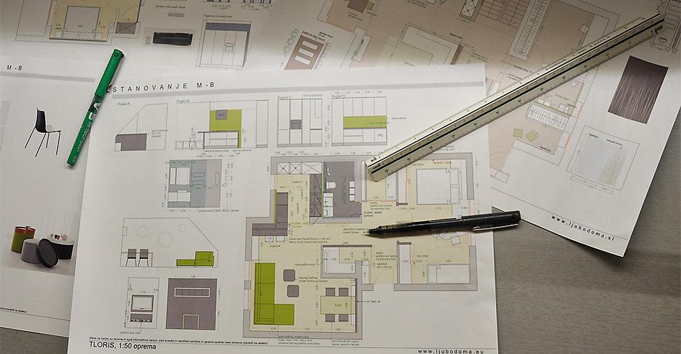 Ljubodoma: projekt notranje opreme, interier, prenova stanovanja, načrtovanje, izbor barv, barvno svetovanje, projekt osvetlitve, izbor pohištva in dodatkov, dekoracija, personal shopper, projekti zunanje ureditve.