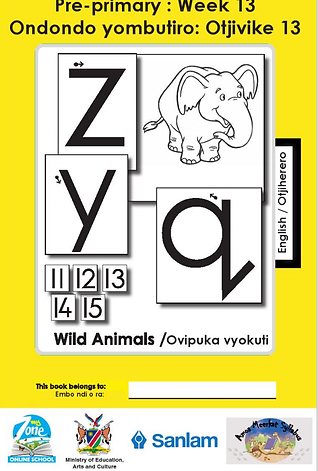 Zoshy Ojiherero Workbook
