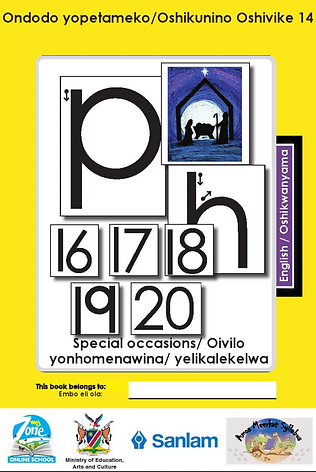 Zoshy Oshikwanyama Workbook
