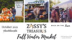 Zassy's Fall Vendor Market 2020