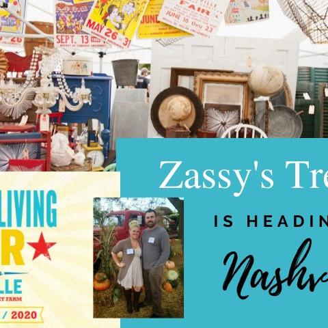 Zassy's At Country Living Fair Nashville