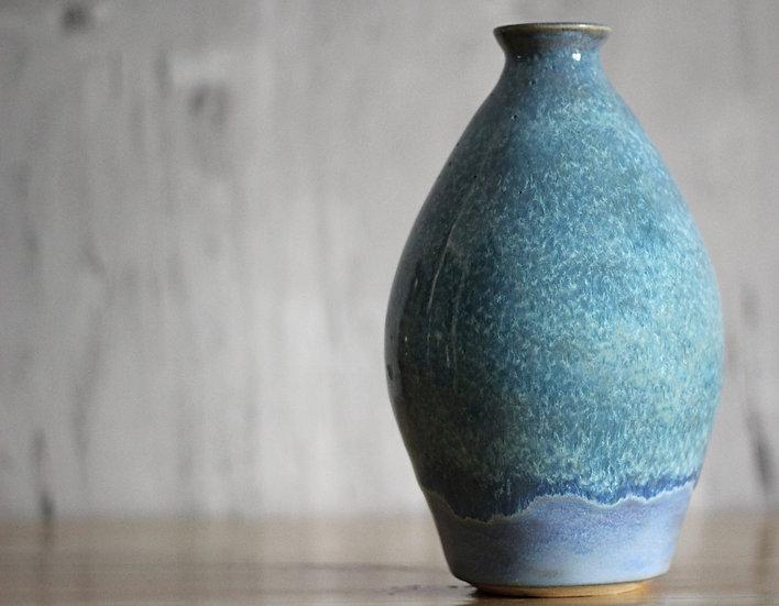 Iris Blue Vase