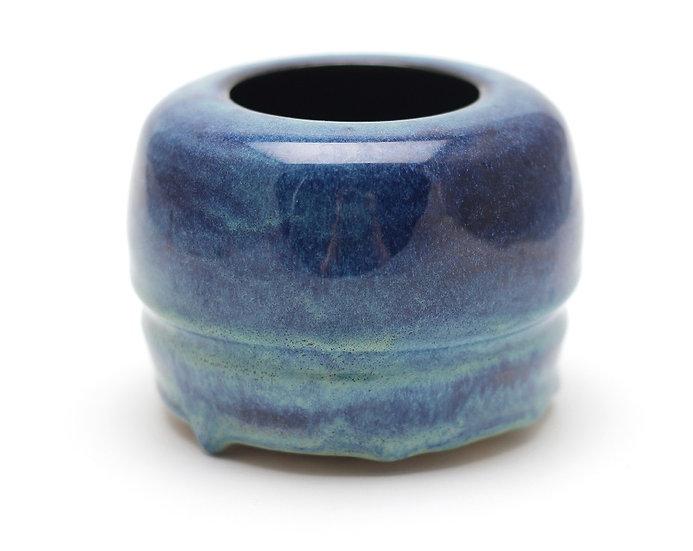 Mini Blue Transformer Pot