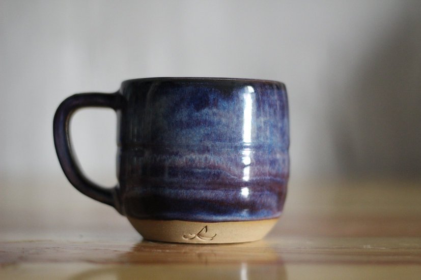 Blue Nebula Mug (available in Sharjah art foundation shop)