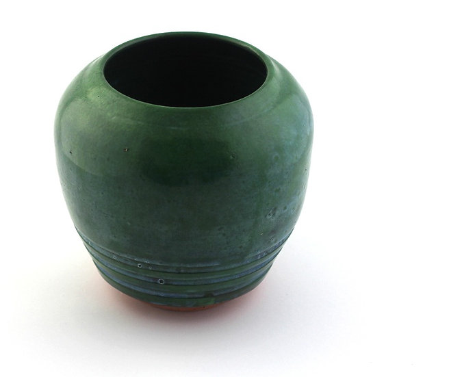 Green bellied Vase