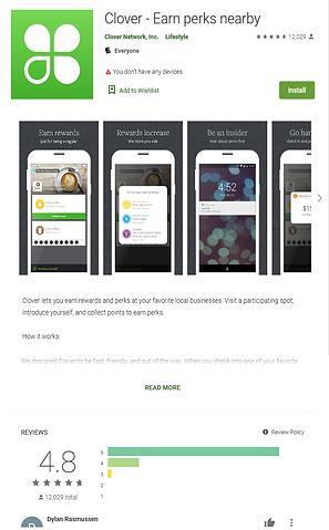 Google Play Clover App Screen Shot.png