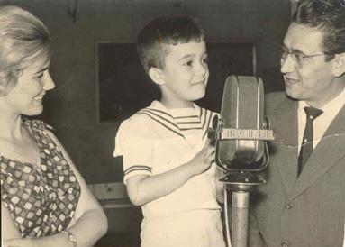 Guillermo Orduna en la Radio años 60