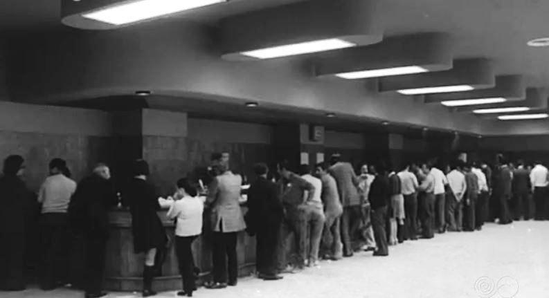 Cafeteria de RNE 1972