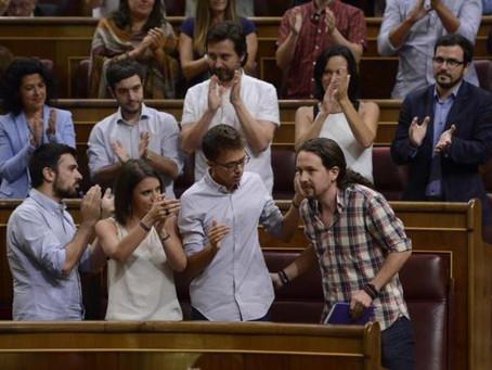 Camisa de cuadros en el Congreso
