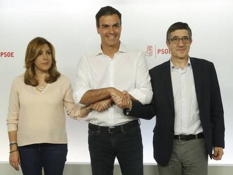 ¿ Quién mandó rectificar en el PSOE ?