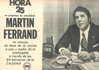 HORA 25, Manuel Martín Ferrand