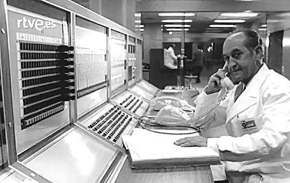 Control Central e RNE años 70