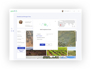 Detailed Land Manager View - Add Complia
