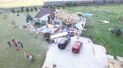 F2 Tornado Damage in Richland Co