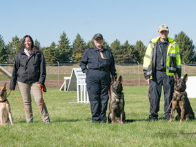 OSRT Search and Rescue K-9 Team Members Certified in High Level Search Techniques