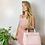 Thumbnail: Bolsa em couro rosa