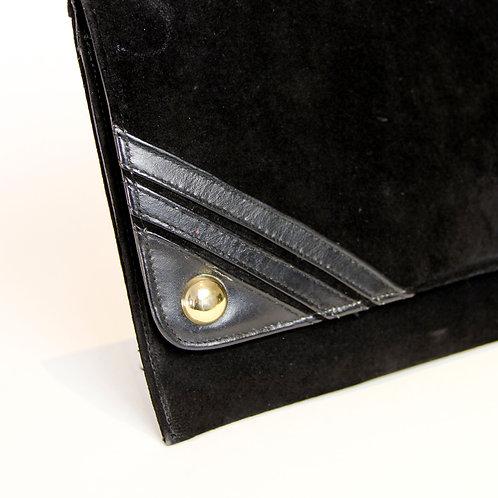 Bolsa Clutch Camurça