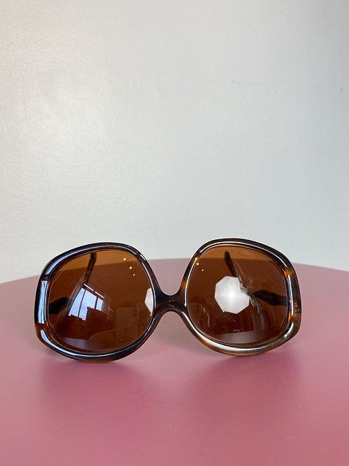 Óculos acetato marrom
