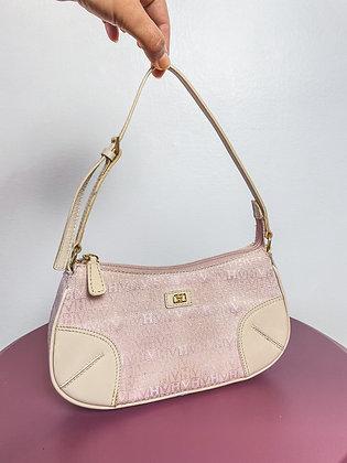 Bolsa de mão rosa