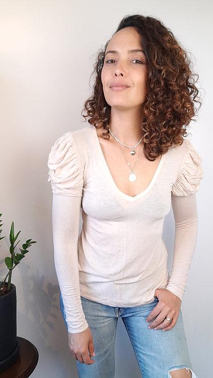 Blusa manga longa