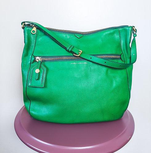 Bolsa couro verde